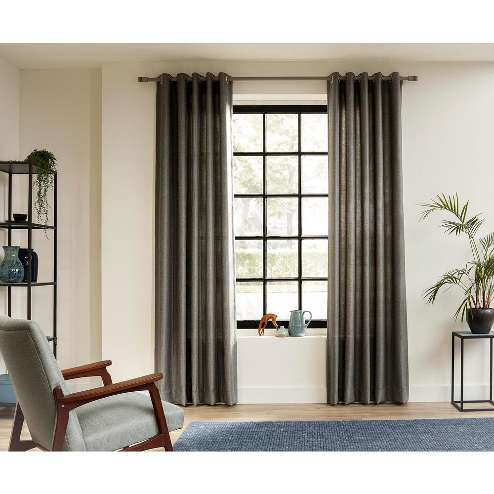 Ltl Home Products 63 In Intensions Single Curtain Rod Kit In