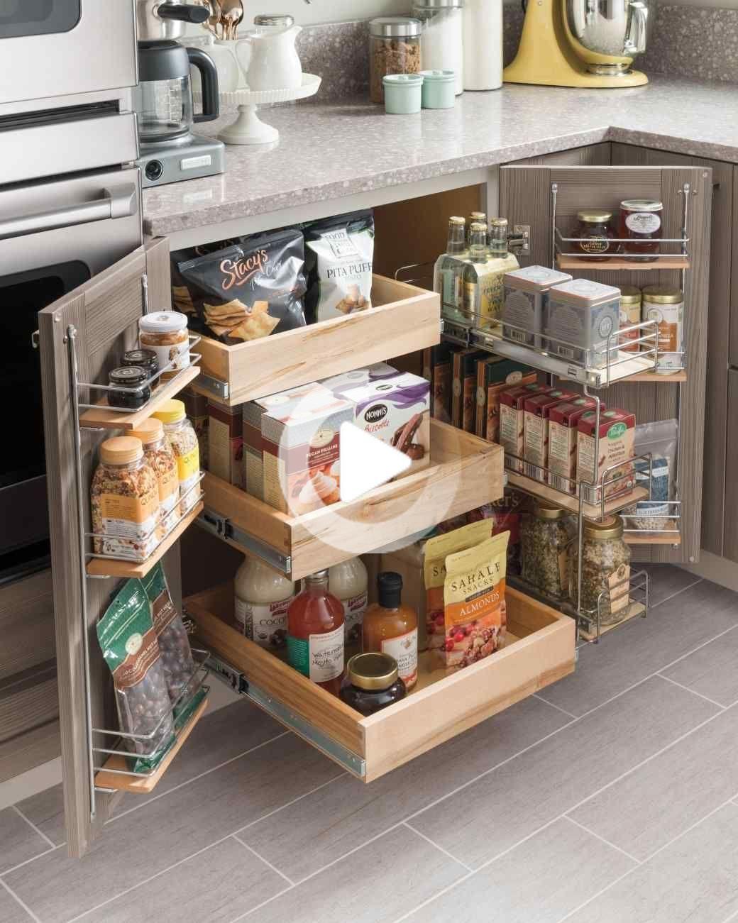 Petite cuisine Idées pour un espace de stockage plus efficace ...