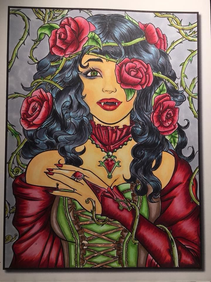 From Vampires I Book By Jade Summer I Have Colored Using Copic