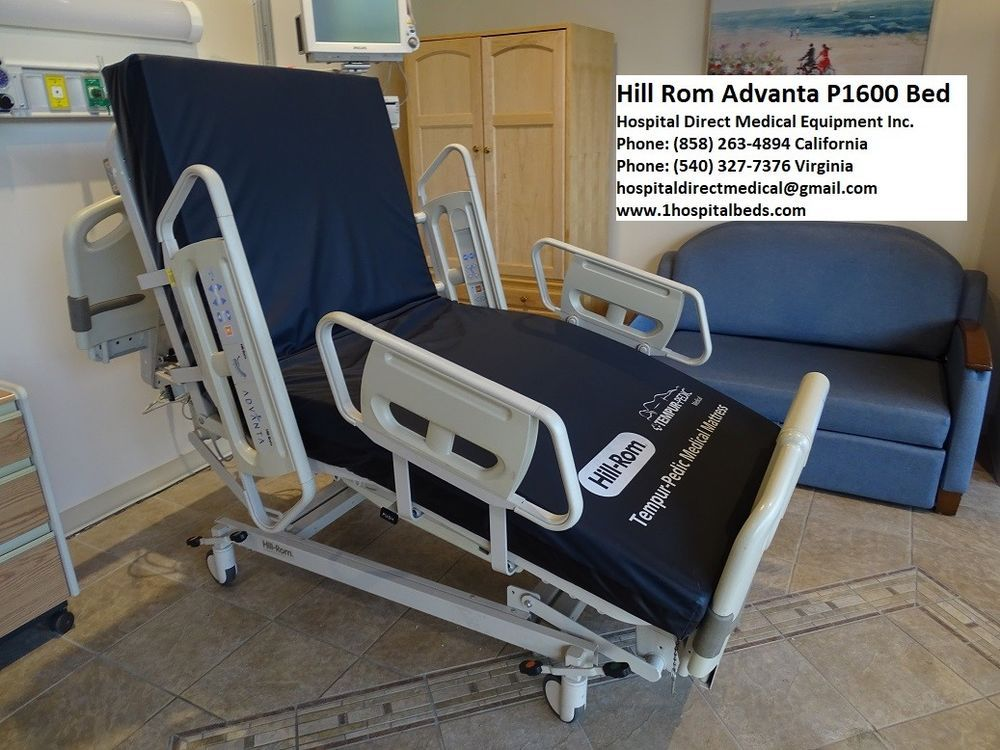 Details about Hill Rom Advanta P1600 Bed with 1 Year