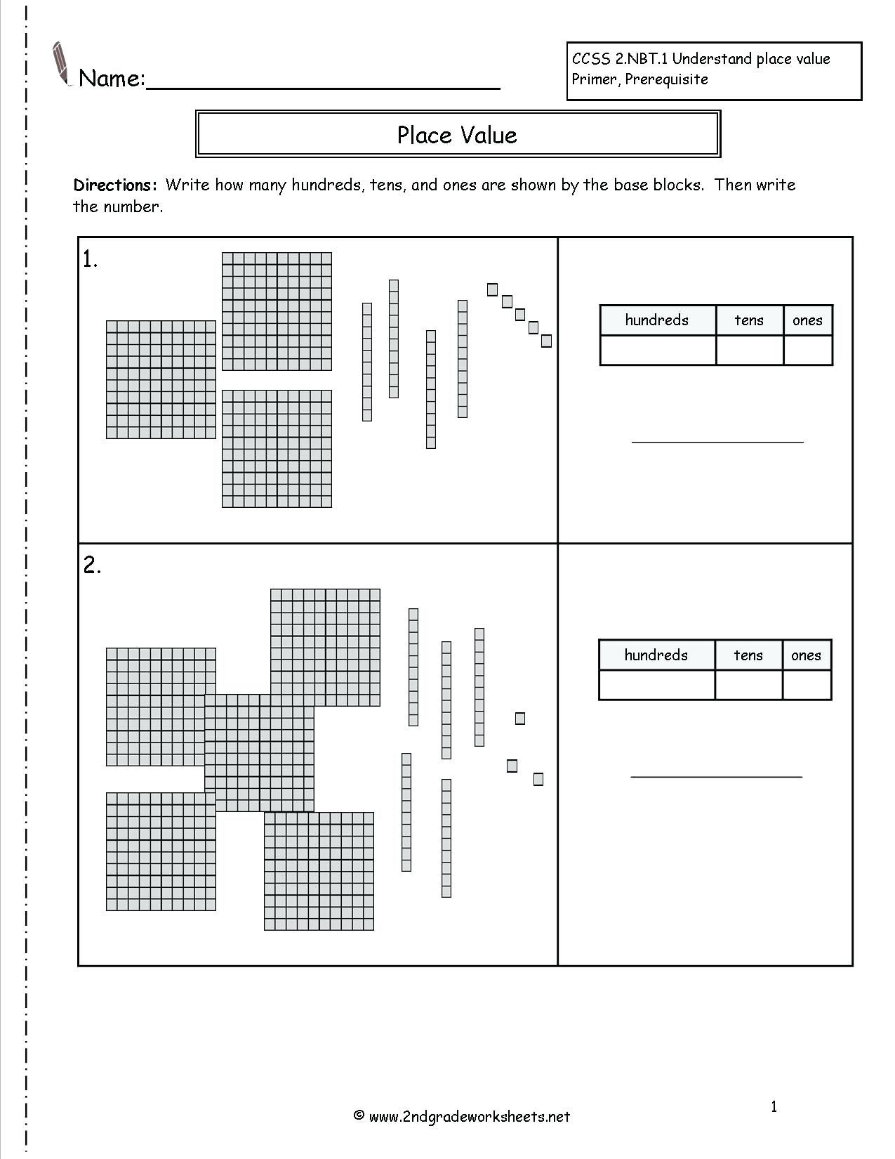 3rd Grade Place Value Worksheets Educationlevel