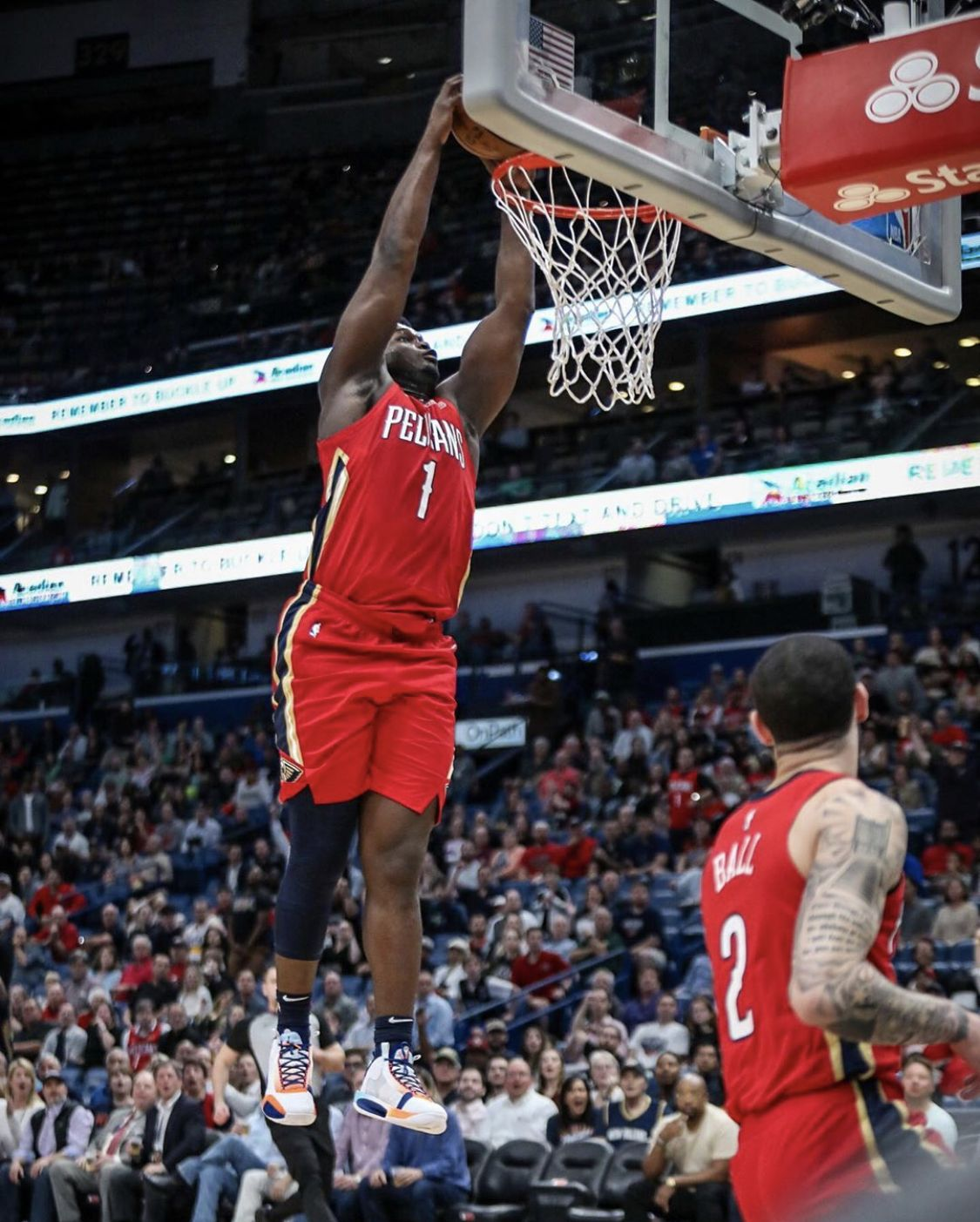 Pin by Daniel Son on Zion in 2020 New orleans pelicans