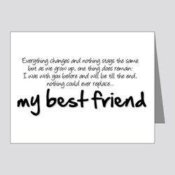 note to my best friend
