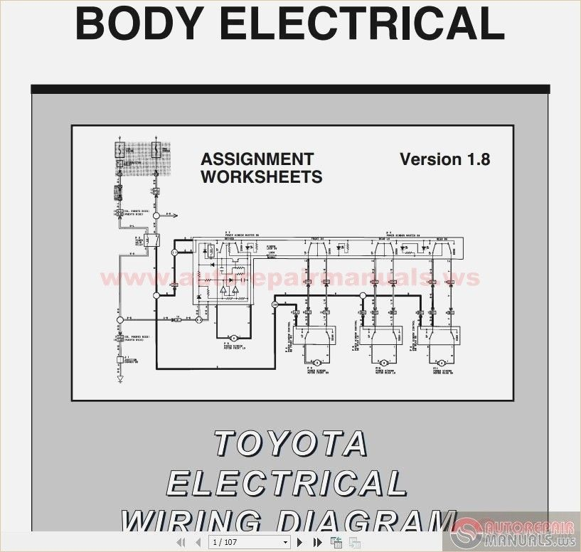 Wiring Diagram For A 1998 Toyota Camry The Wiring Diagram Toyota Diagram Wire