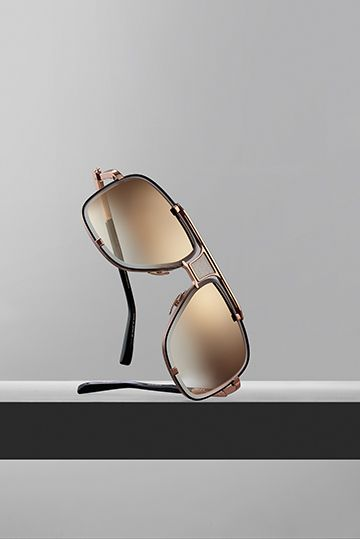 f72173aa701 The Limited Edition Mach-Five Aviator Sunglasses in Rose Gold ...