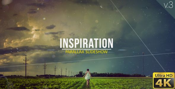 Inspiration Parallax Slideshow — AE Template #portfolio #production • See it in action → https://videohive.net/item/inspiration-parallax-slideshow/16154648?ref=pxcr