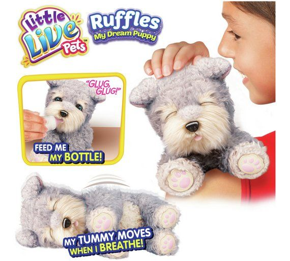 Buy Little Live Pets Ruffles My Dream Puppy At Argos Co Uk Visit Argos Co Uk To Shop Online For Teddy Bears And Soft Toys Little Live Pets Teddy Bear Soft Toy