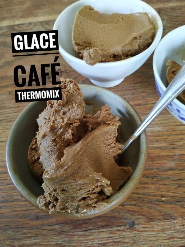 Glace au café Thermomix - recettes de cuisine avec Thermomix ou pas