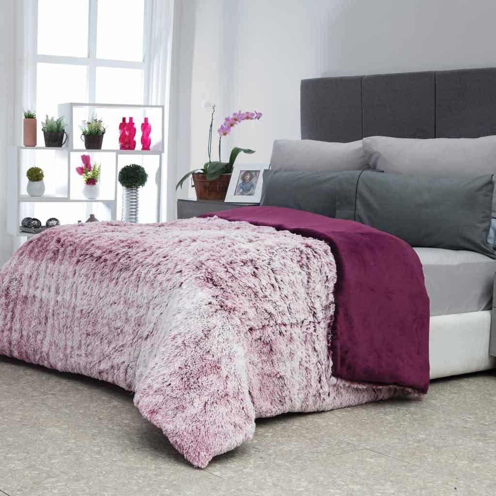 Platino Super Soft Fig Frio Cobija Cobertor Calientito Decoracion Flannel Cobertor Dosvistas Casa Hogar Cama Descanso Hogar Camas Decoracion Hogar