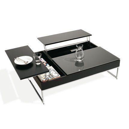 table basse rangement maison pinterest table basse table et mobilier de salon. Black Bedroom Furniture Sets. Home Design Ideas