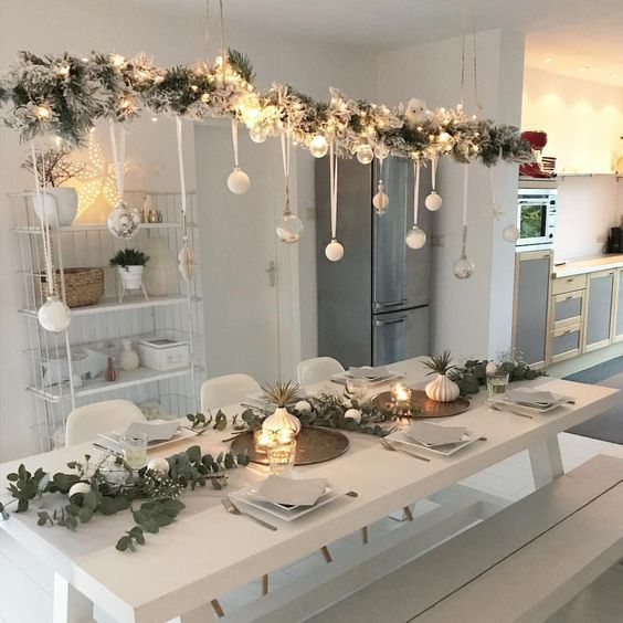 Suchen Sie originelle Weihnachtsdekorationen für im Haus? Hängen Sie es an die Decke! #christmasdeko