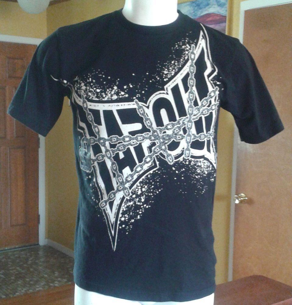 TAP OUT TShirt Black LARGE 14/16 TAPOUT Men's Wear Me