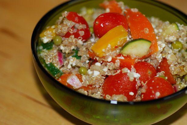 Starwberry Feta Quinoa Salad Recipe - Food.com