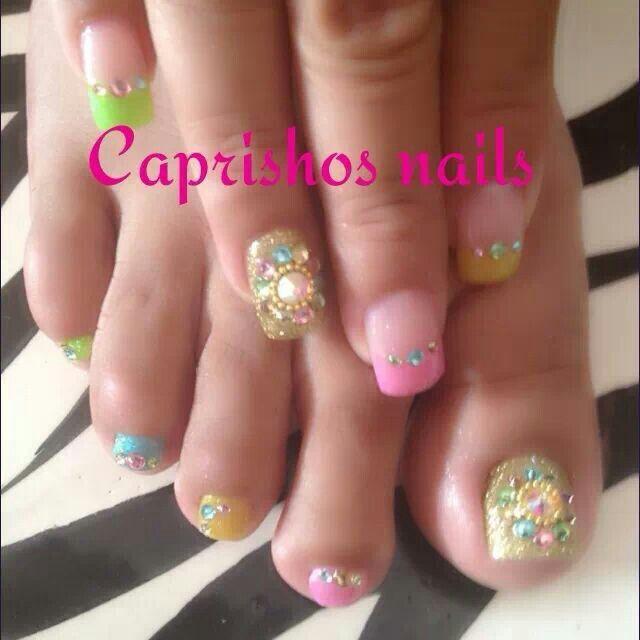 ✴✴✴〰Nail art 〰✴✴✴ | Nails toes T.M.M :) | Pinterest ...