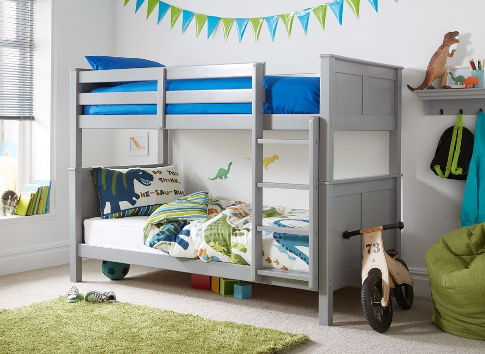 Hutchin Bunk Bed Grey