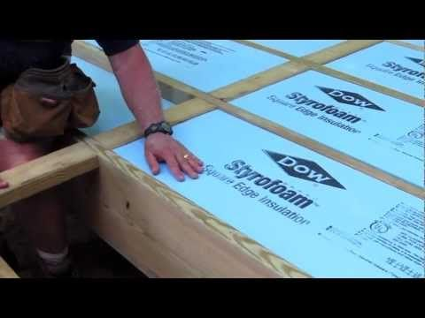 Insulating Under A Mobile Home With Foam Board Diy Project Remodeling Mobile Homes Mobile Home Renovations Mobile Home