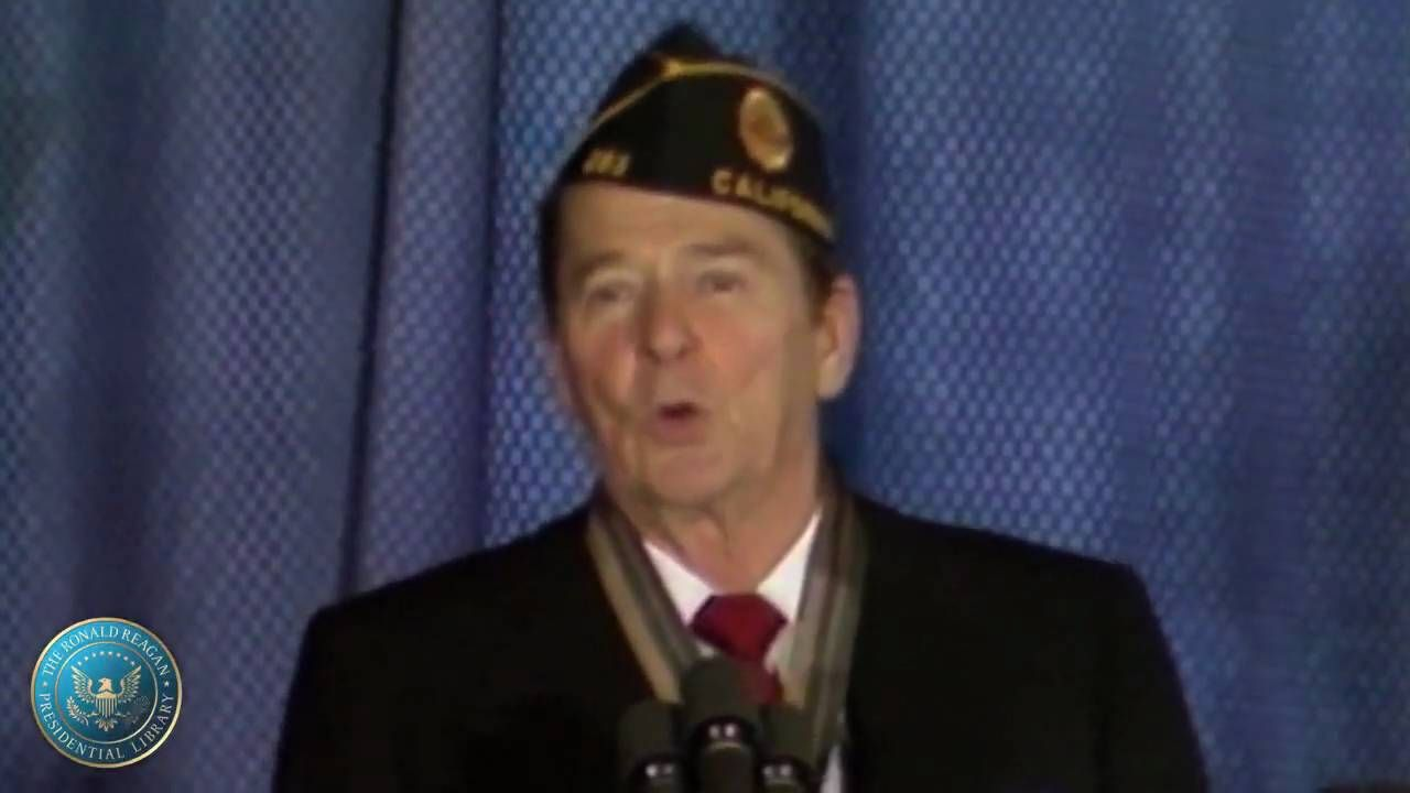 Ronald Reagan's Remarks at the Annual Washington Conference of the American Legion 1983