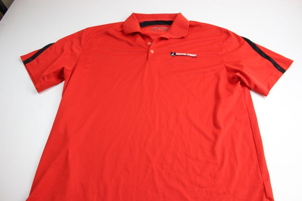 6ca40fb0db46 RARE Nike Michael Jordan Senior Flight School POLO SHIRT XL Extra Large   MichaelJordan