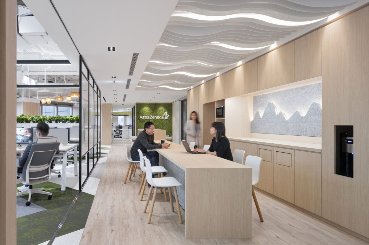 Astrazeneca Offices Taipei Office Snapshots In 2020 Open Office Design Commercial Office Design Workplace Design