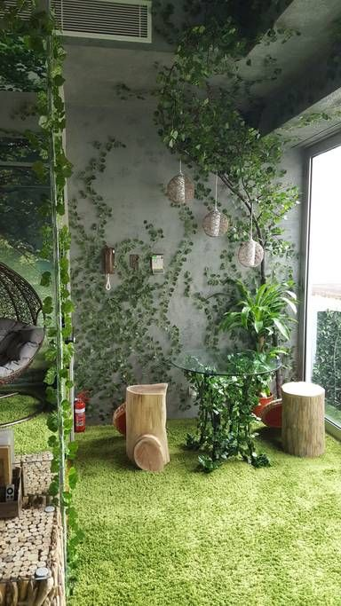 Indoor Heaven And Forest In Cbd Heart Of Melbourne Flats For Rent In Melbourne Victoria Au Forest Theme Bedrooms Big Indoor Plants Enchanted Forest Bedroom