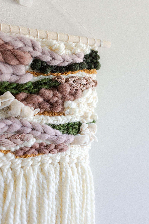 Lavender weave with hanging loop
