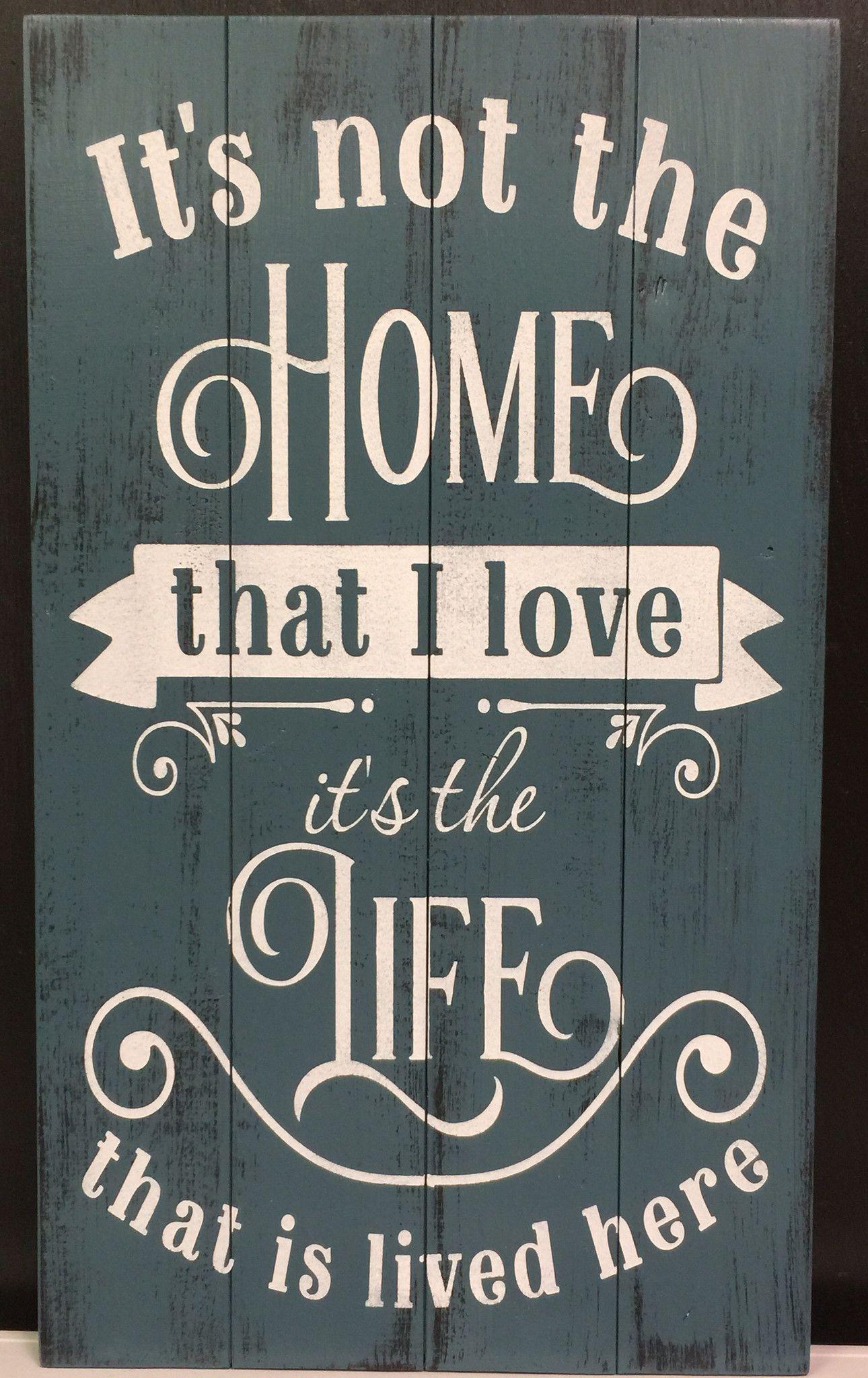 it u0027s not the home that i love u2013 signs of vinyl pallet u0026 wood