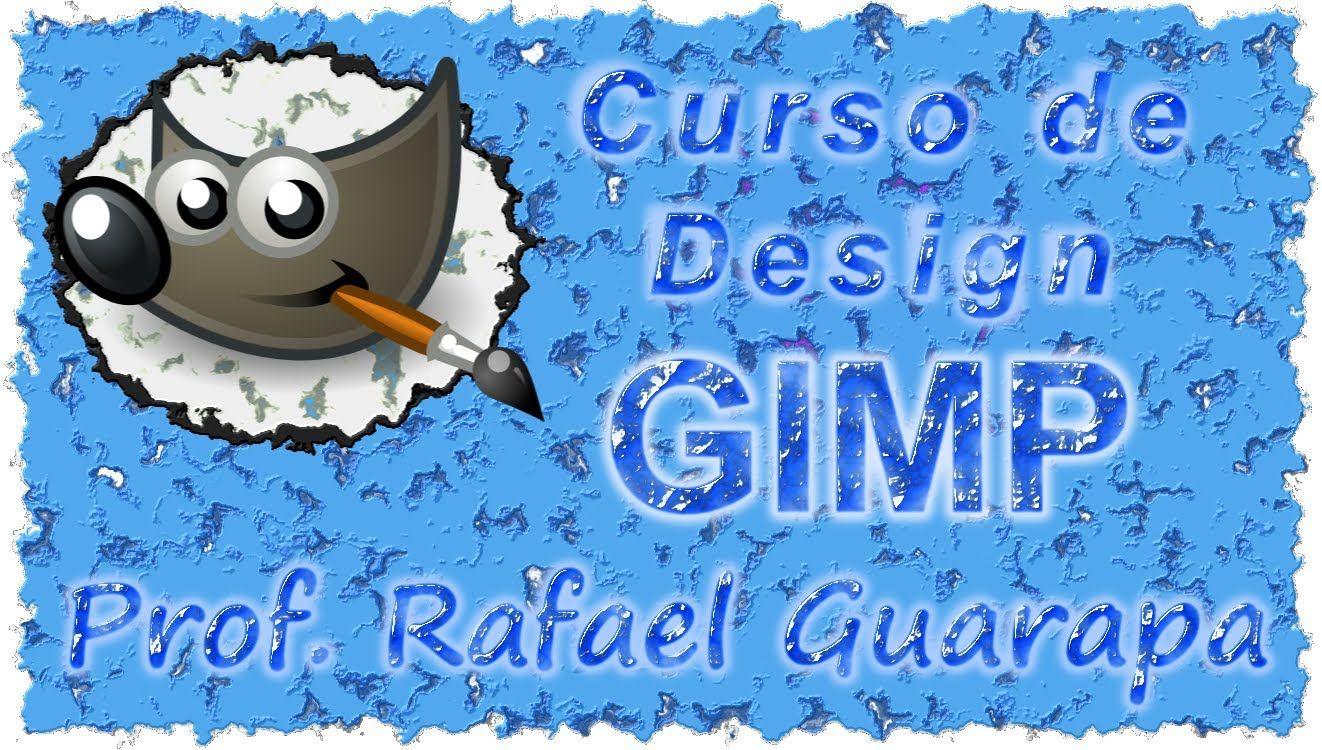 Curso de Design Gimp Artes - 01 - conceitos básico e primeiro desenho
