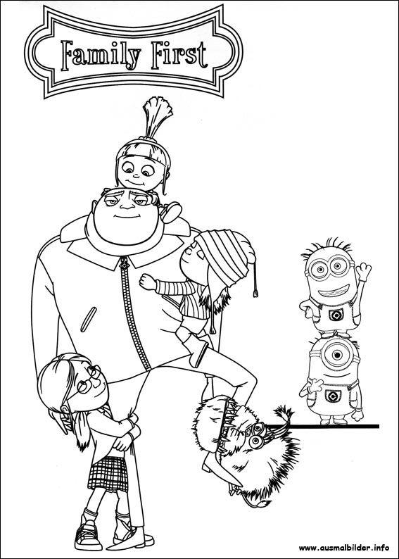 minions malvorlagen  minion coloring pages minions