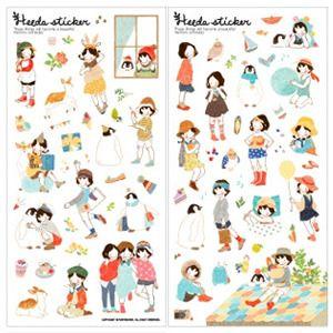 5 Sheets Cute Diary Album Stickers Calendar Card Scrapbooking Korean Girls