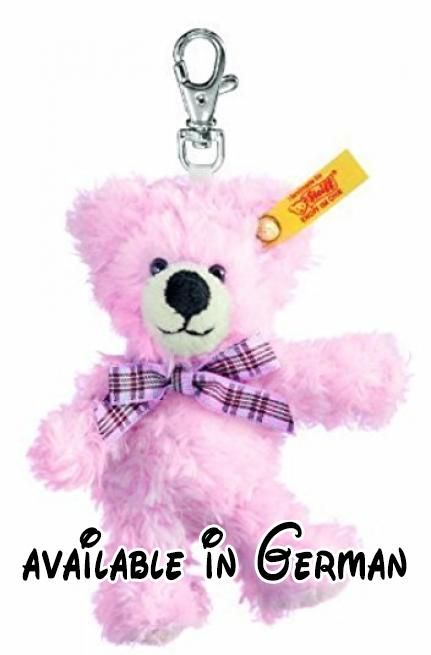 Steiff Keyring Teddy Bear (Pink) by Steiff.  #Toy #TOYS_AND_GAMES