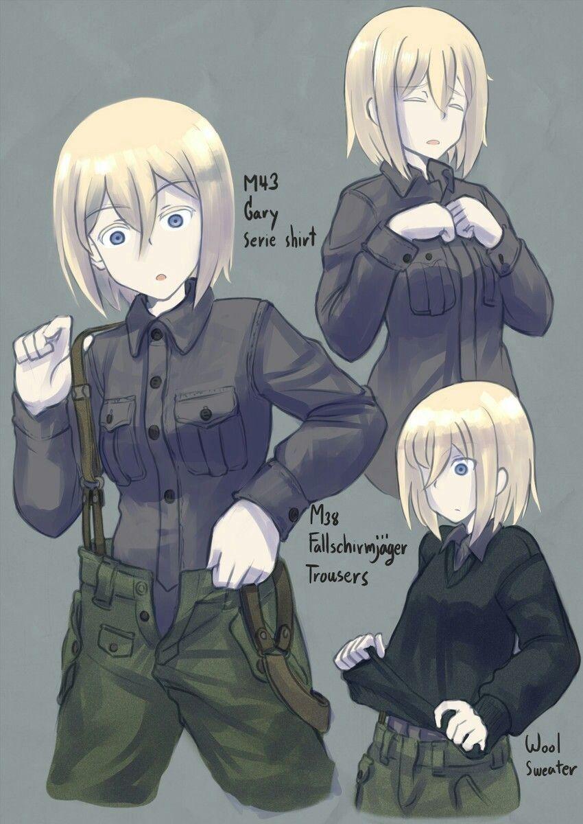 pin mike nazi anime