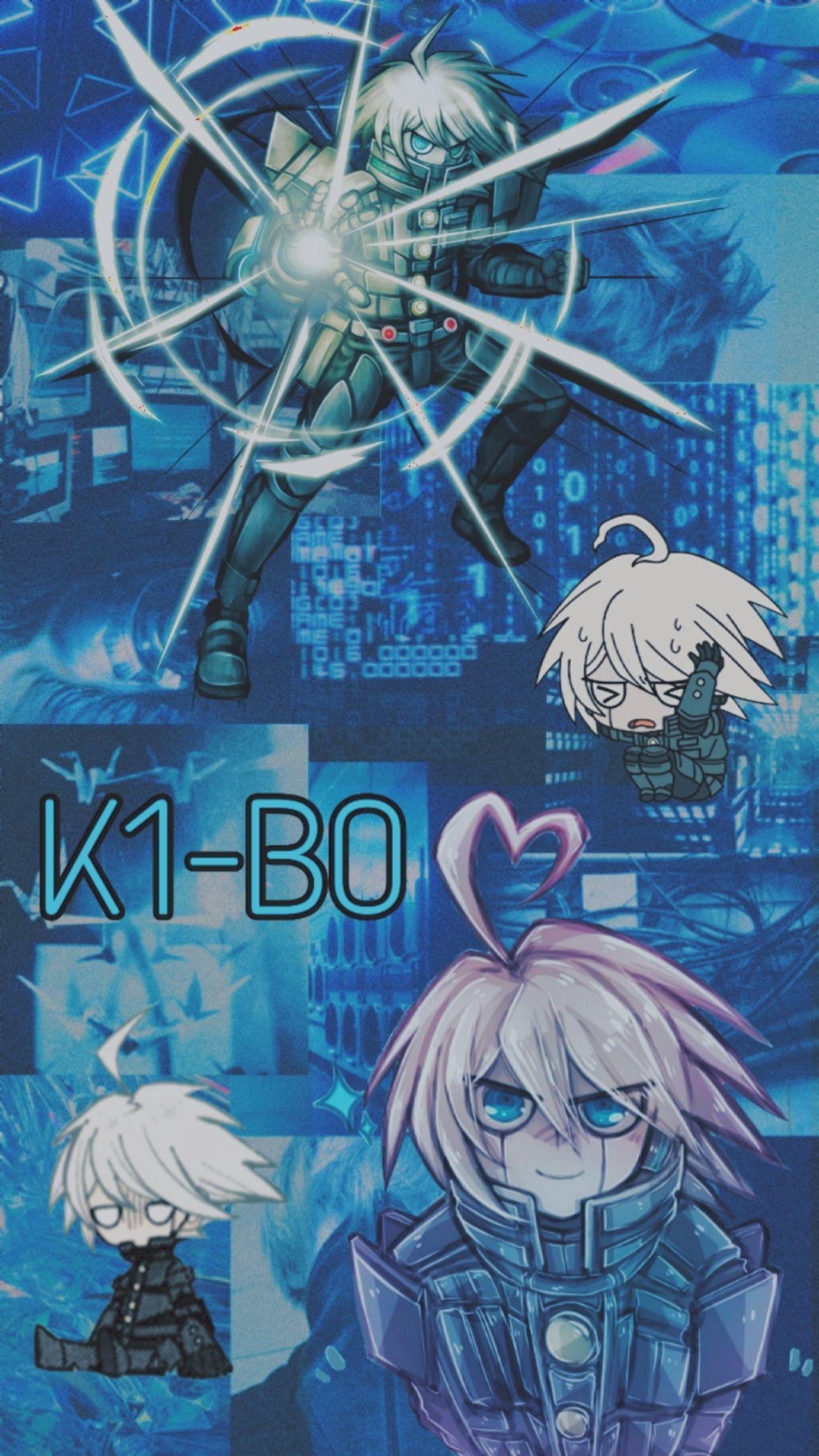 K1B0 aesthetic Anime wallpaper, Anime, Danganronpa