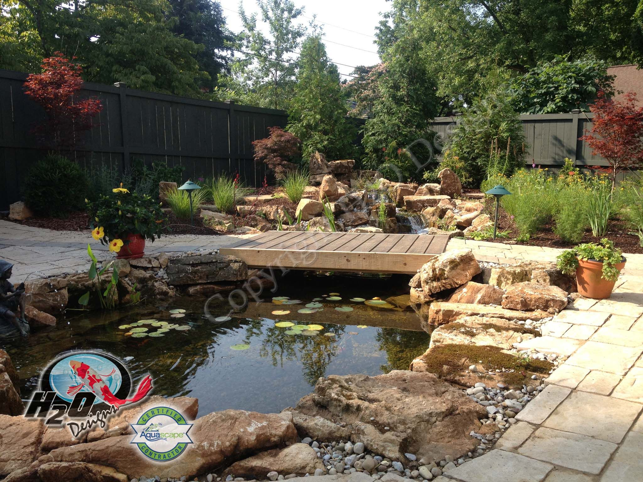 Garden Pond Design Lexington Kentucky Ponds Backyard Garden Pond Design Backyard