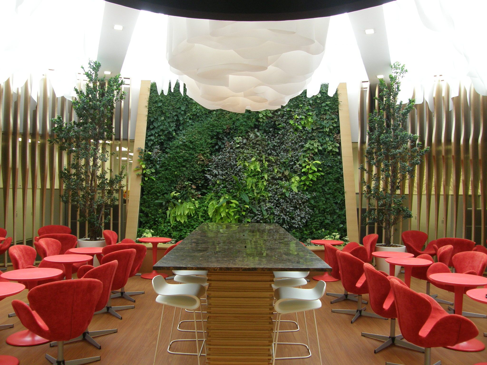 GVG Greenwalls At Estee Lauder Corporate Office, Singapore
