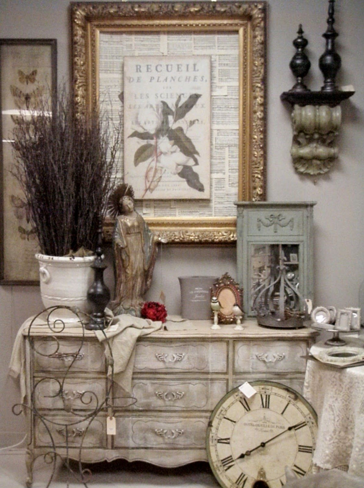 A Visit To Vintage Market Country Wall Decor French Cou