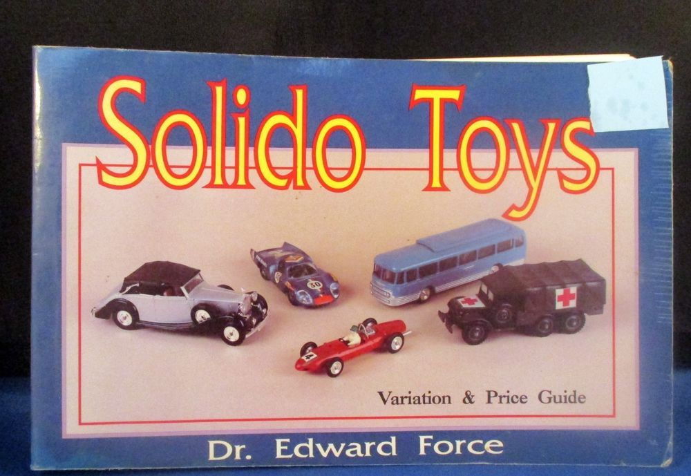 Details about SOLIDO TOYS Variation & Price Guide Book Edward Force ...