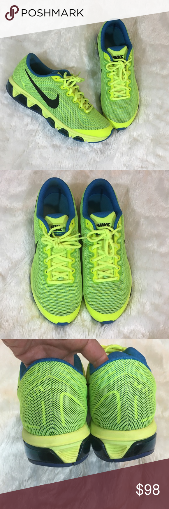 huge selection of cfd0a 25e88 🆕Men s Nike Air Max Tailwind 6 Neon Men s Nike Air Max Tailwind 6. In  bright neon green yellow. In excellent preloved condition. Size 11.5. No  box.