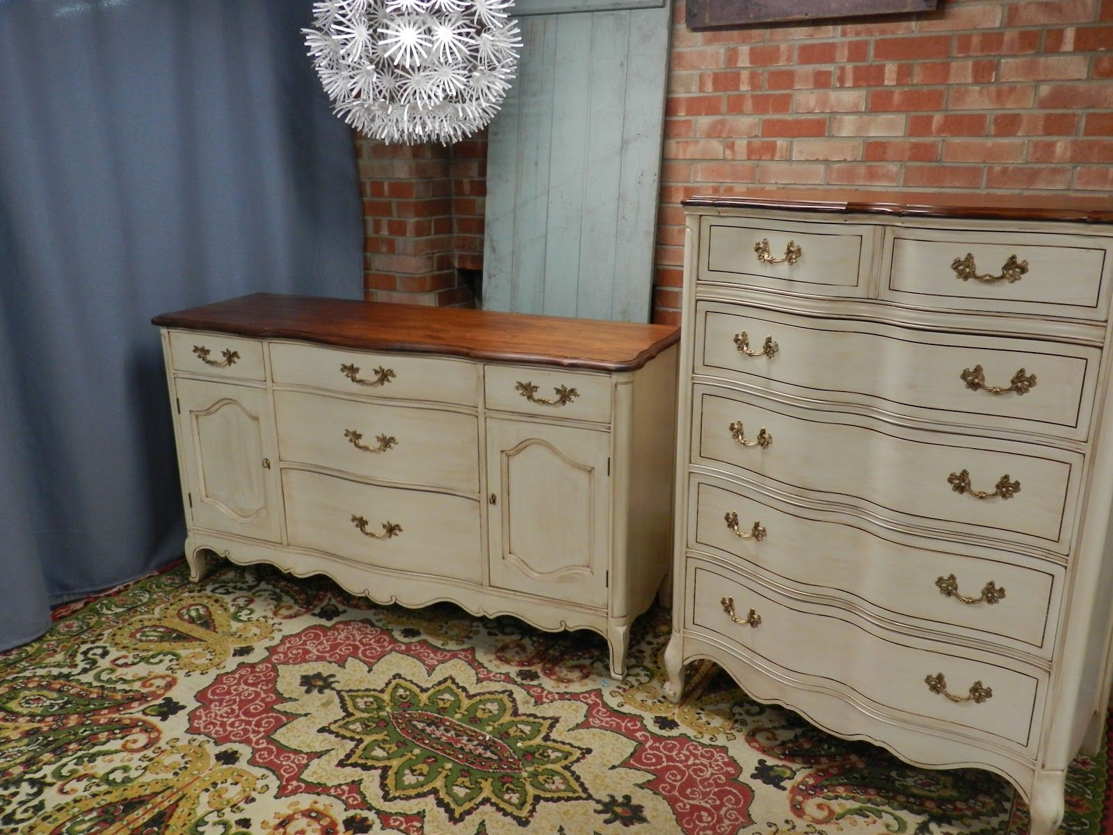 Our Refinished French Provincial Bedroom Furniture Refinished By Simple Redesign In Grand