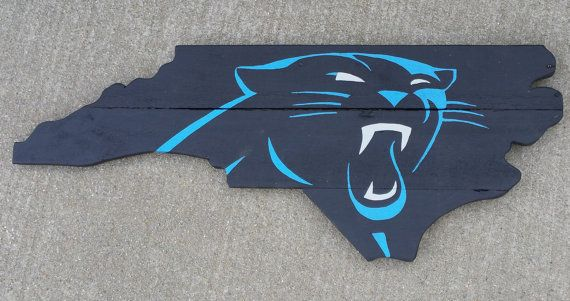 87c9e0f2 Carolina Panthers Wall Art FREE SHIPPING by LonelyTreeProduction ...