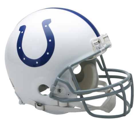 new styles a01b0 7ee9d Indianapolis Colts Authentic NFL Full-Size Helmet | go ...