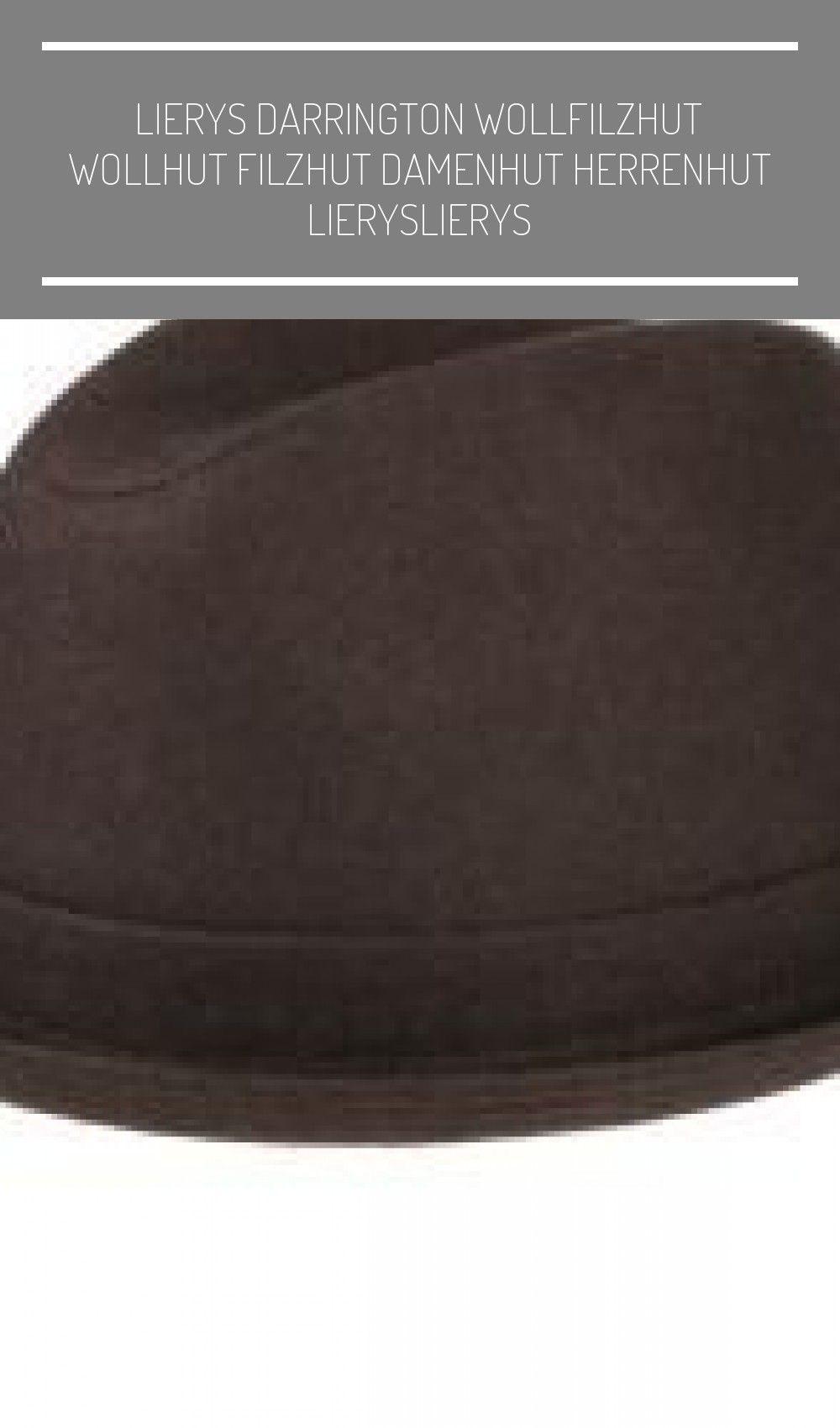 LIERYS Darrington Wollfilzhut Wollhut Filzhut Damenhut Herrenhut Hüte