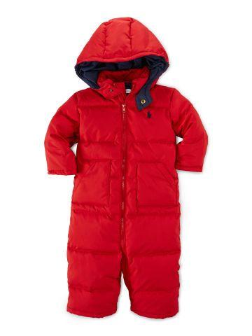 c427f27d5 Hooded Down Snowsuit - Baby Boy Outerwear & Jackets - RalphLauren.com