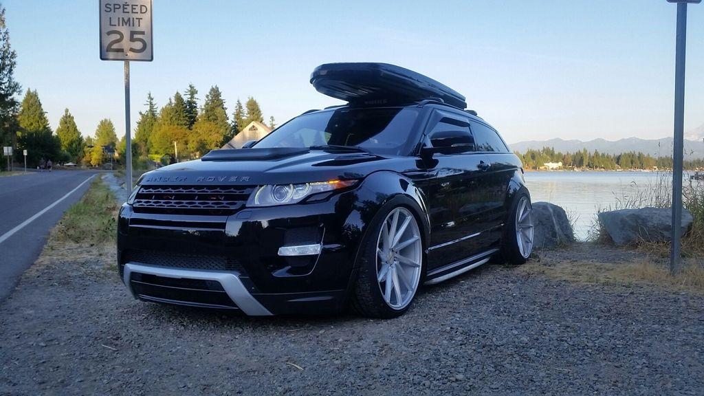 Bagged Range Rover Evoque SpeedOnline Porsche Forum And - Range rover forum