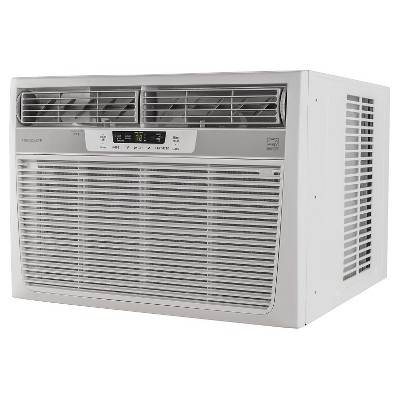 Frigidaire 25000 Btu 230v Window Mounted Heavy Duty Air Conditioner With Temperature Sensing White Best Window Air Conditioner Window Air Conditioner Compact Air Conditioner