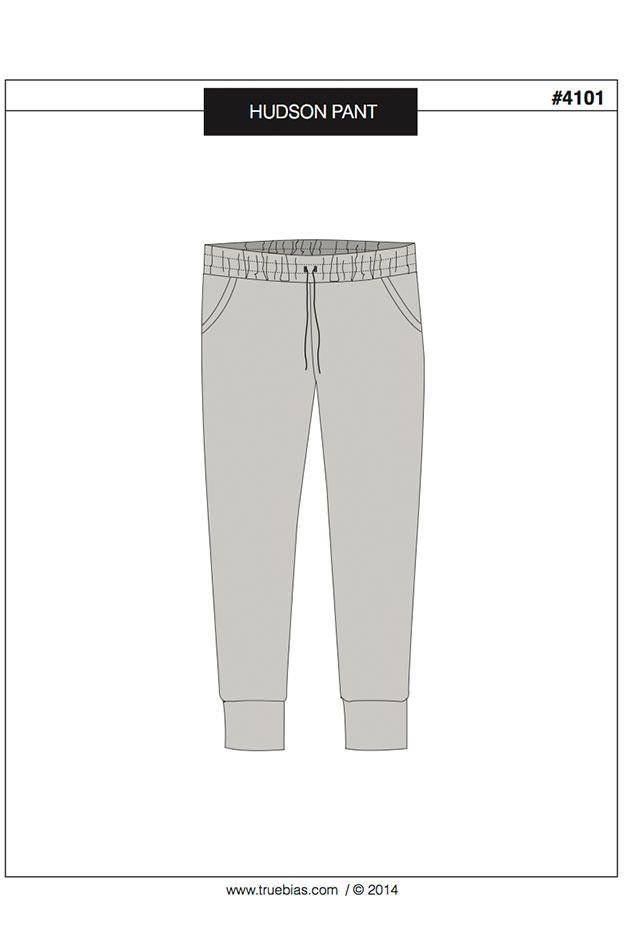 Hudson Pant Sewing Pattern by True Bias | Sewing | Pinterest ...