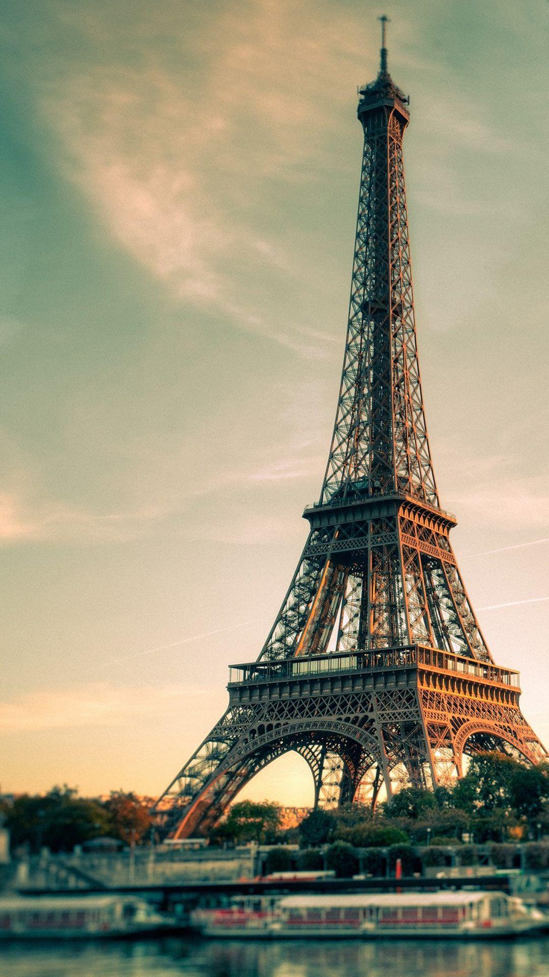 Paris Eiffel Tower Smartphone HD Wallpapers Fotografia