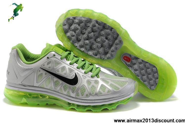best service 88409 9eeaf ... discount low price mens nike air max 2011 silver green black sneakers  shoes shop ae3fc d3931