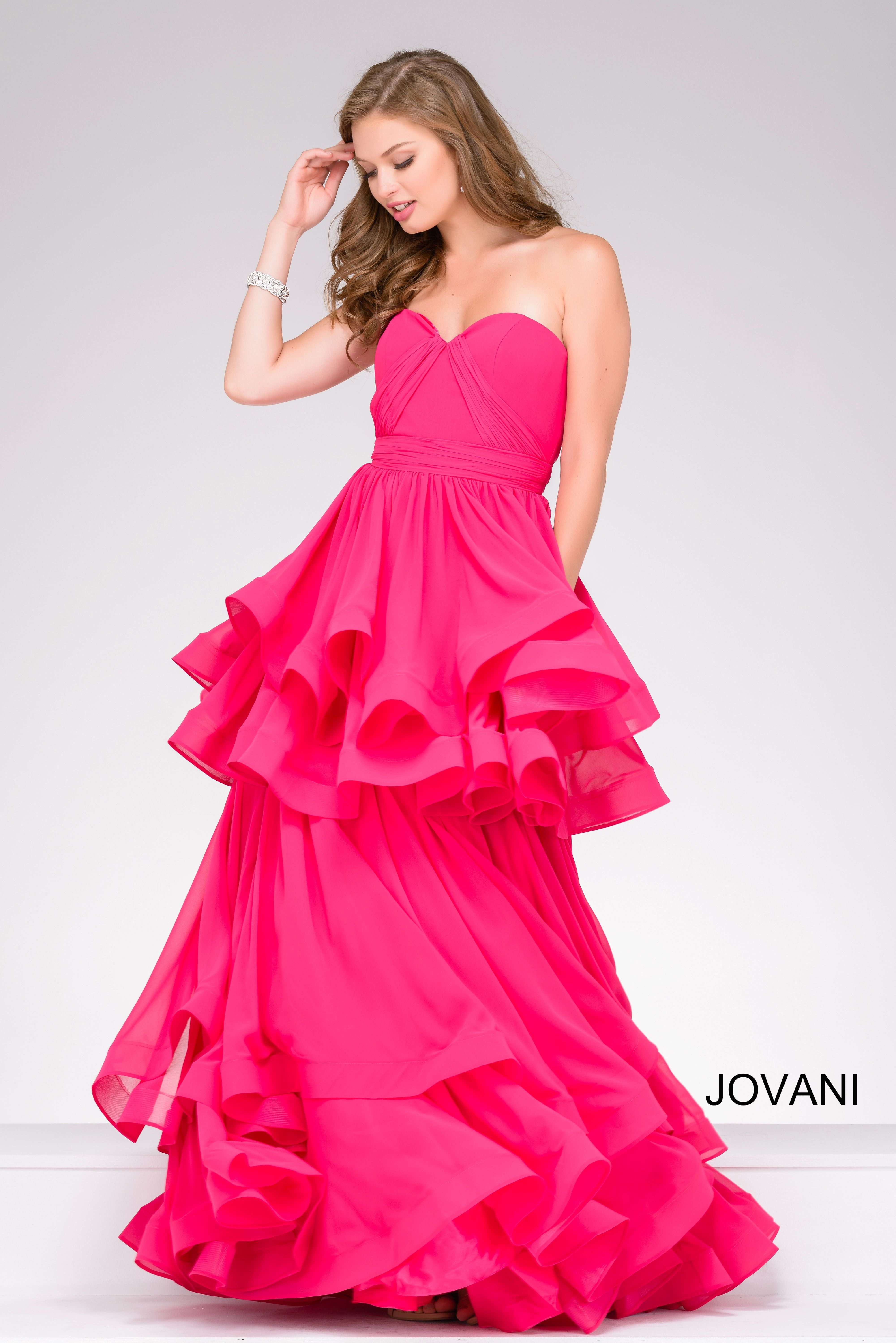 Be fun & flirty in Jovani style 47869 available at WhatchamaCallit ...