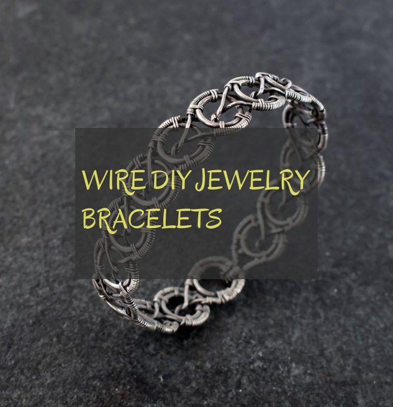Wire diy jewelry bracelets