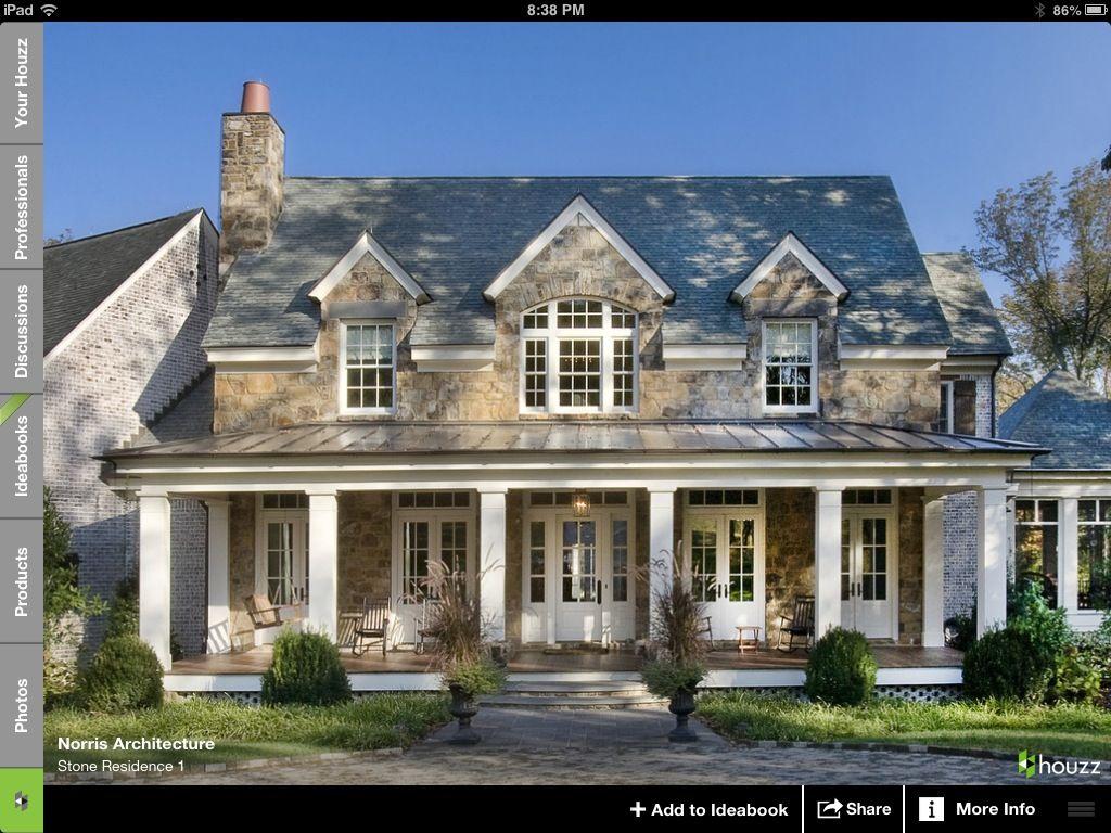 stone u0026 porch my next home pinterest stone porches porch